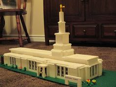 Lego Temples - Build In Holy Places
