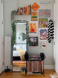 Cute Bedroom Decor, Room Design Bedroom, Room Ideas Bedroom, Home Room Design, Decor Room, Indie Room, Boho Room, Aesthetic Room Decor, My New Room