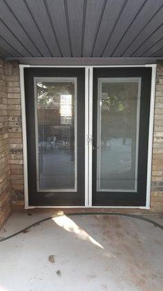 Patio doors and shops on pinterest for 8 foot retractable screen door