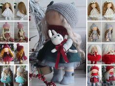 Fabric doll Baby doll Tilda doll Handmade by AnnKirillartPlace
