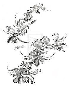 Body Henna Designs by ~iLoveKyu on deviantART