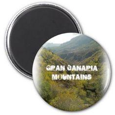 #Gran Canaria Mountains 001 Magnet - #beach #travel #beachlife