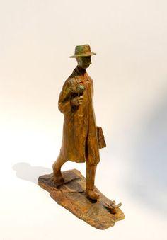Farewell 4, Bronze  Sculpture by Uri Dushy