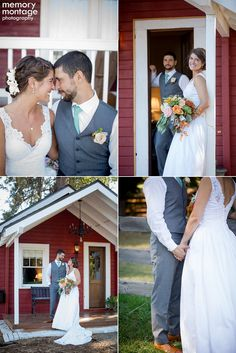memory montage photography - BLOG: Lauren + Bryan || Wedding at Ritter Farms