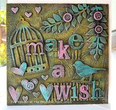 Kath's Blog......diary of the everyday life of a crafter: Make A Wish...