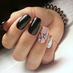 natural summer pink nails design for short square nails 30 Related Square Nail Designs, Black Nail Designs, Short Nail Designs, Fall Nail Designs, Gel Nail Art, Nail Manicure, Gel Nails, Nail Polish, Pink Nails