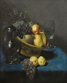 Judith Leyster (1609 - 1660) - Nature morte à la corbeille de fruits