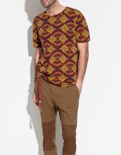 AFRICAN PRINT T-SHIRT - T-shirts - Man - ZARA United Kingdom ($1-20) - Svpply