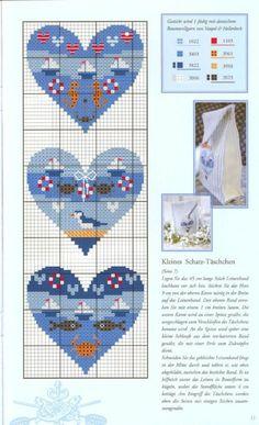 Etamin Şablonları Kalp Desenleri 2 - Mimuu.com