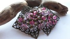 Hair Clip Coordinated Pinks £12.00