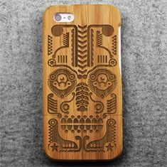 Tribal (Bamboo iPhone 5 Case)