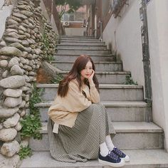 52 Ideas Fashion Photography Poses Ideas Dresses For 2019 Korean Photography, Fashion Photography Poses, Ulzzang Korean Girl, Cute Korean Girl, Women's Dresses, Japanese Fashion, Korean Fashion, Aesthetic Clothes, Aesthetic Girl