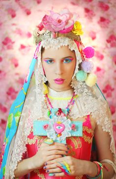[ • religious iconography - colorful - kitsch • ]
