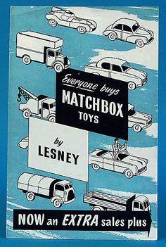 Lesney Matchbox period adverts
