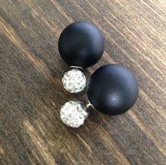 Double Sided earrings-Two sided earrings-Double by FlippinRustic