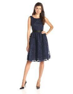 Helene Berman Women's Lace Party Dress