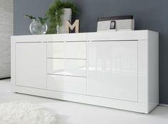LC Mobili Basic Sideboard Large | www.bocadolobo.com #bocadolobo #luxuryfurniture #exclusivedesign #interiodesign #designideas #modernsideboard #sideboardideas #sideboard