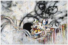最新作 727999 村上隆 ポスター 300枚限定 Takashi Murakamiの1番目の画像