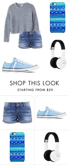 """""""Walk around NEWYORK"""" by annierhcole ❤ liked on Polyvore featuring Converse, Uncommon and Nixon"""