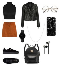 """""""polyvore"""" by jesy-smith on Polyvore featuring mode, WithChic, WearAll, Puma, Paige Denim, Versace, CLUSE, Fremada, Casetify et OTM Essentials"""