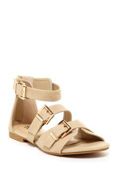 Marsy Buckle Sandal
