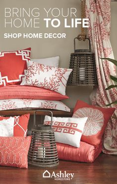 Put the finishing touches on any look with accessories from Ashley HomeStore. Bedding, rugs, wall decor, throws, pillows and more are all waiting to help turn your house into a much more comfortable home, at Ashley HomeStore. Shop the collection now.