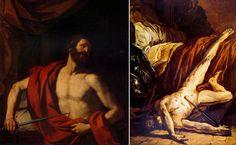 Delacroix - The Death of Cato