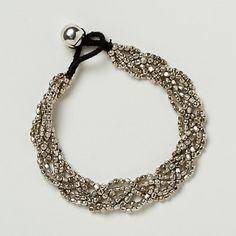 Braided Beads Rope Bracelet