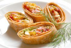 Three-Pepper Feta Roll-Ups Recipe - Food.com