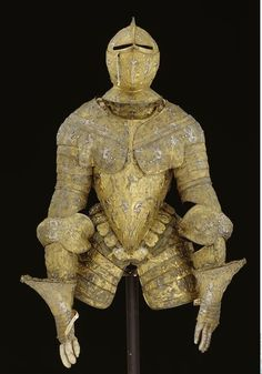 Half armour, offered in 1588 to Christian I of Saxony by the Duke Emmanuel I of Savoy