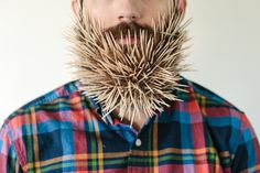 Hilarious Photos of a Man with Random Objects in His Beard - My Modern Metropolis