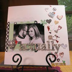B&W Wedding Album - Scrapbook.com