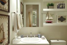 """Banheiros de 2,9 m² a 12,45 m²: veja como deixá-los funcionais, na moda e """"mais amplos"""" - Casa e Decoração - UOL Mulher"""