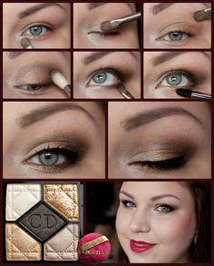 DIOR Night Golds Tutorial http://www.magi-mania.de/dior-night-golds-makeup-tutorial/