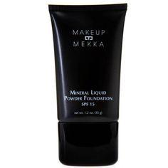MINERAL LIQUID POWDER FOUNDATION SPF15 fra Makeupmekka. Om denne nettbutikken: http://nettbutikknytt.no/makeupmekka-no/