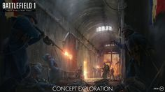 We get our first look at concept art from the upcoming Battlefield 1 expansion, They Shall Not Pass. Battlefield 1 's first add-on is cal. Triple Entente, Battlefield 1 Game, French Army, Video Game News, News Games, Video Games, France, Dieselpunk, World War I