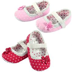 Baby Girls Toddler Princess Flower Decor First Walkers Soft Non-slip Shoes