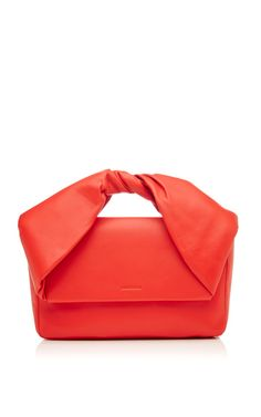 Twisted Leather Clutch by J.W. Anderson Now Available on Moda Operandi