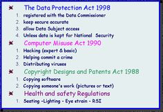 data protection act 1998 - Google Search