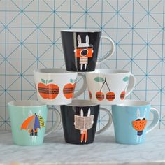 Mug lapin photo Becky Baur - deco-graphic.com