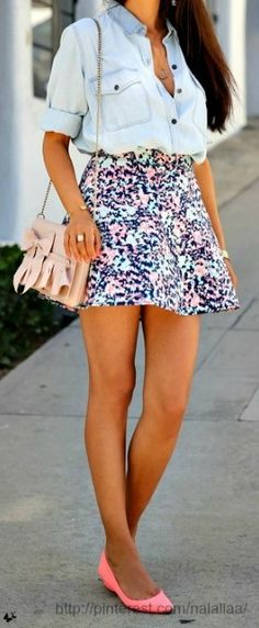 I Love skirts like this