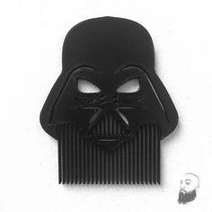 Inspired Darth Vader 3D Printed  Comb Star Wars Darth by DelukArt