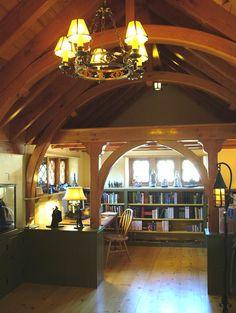 Hobbit House library via www.houzz.com/professionals/architect/philadelphia