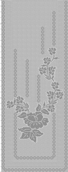CLUB DE LAS AMIGAS DE LAS MANUALIDADES (pág. 564) | Aprender manualidades es facilisimo.com Thread Crochet, Crochet Stitches, Knit Crochet, Lace Patterns, Embroidery Patterns, Crochet Patterns, Filet Crochet Charts, Crochet Borders, Crochet Curtains
