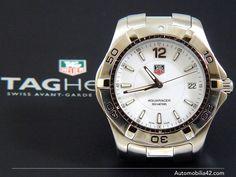 TAG Heuer Aquaracer Man white dial WAF1111
