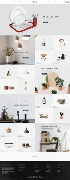 Umbra is the premium PSD template for interior and furniture shop. It is…