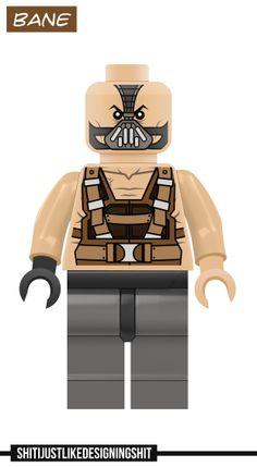 Lego Bane concept
