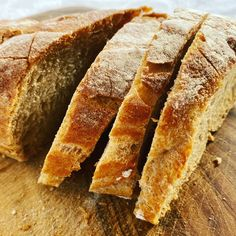 Home made bread #rezept #brot #hausgemachte Dishes, Recipes, Bread, Food Recipes, Plate, Rezepte, Tableware, Cutlery, Recipe