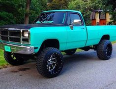 TRUCK GOALS!!! Tiffany blue