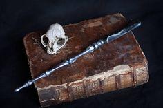 Magic wand, wizard bone wand, death eater harry potter, larp costume